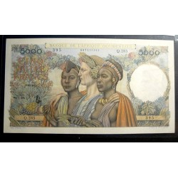 5000 F VICTOIRE ** AFRIQUE OCCIDENTALE** 1950